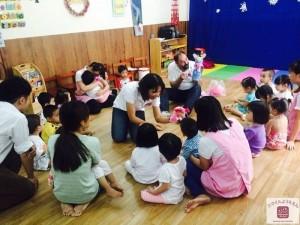 Giáo viên thân thiện, không gian học tập thoải mái tại Smile Kindergarten