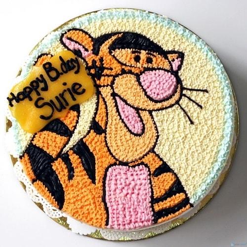 Mẫu bánh sinh nhật cho bé trai 2 tuổi 12