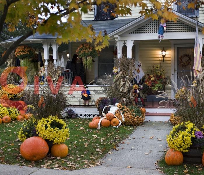 Mẹo sử dụng đèn trang trí Halloween ngoài trời an toàn 3