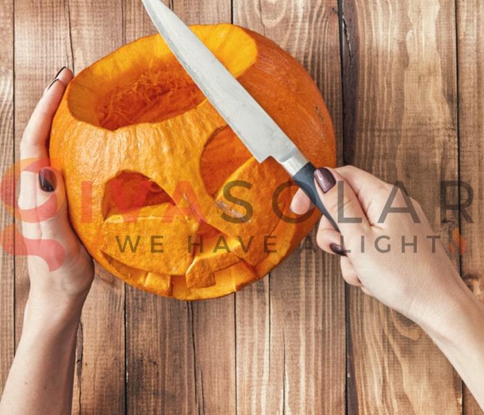 Mẹo sử dụng đèn trang trí Halloween ngoài trời an toàn 4
