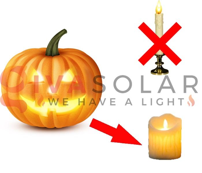 Mẹo sử dụng đèn trang trí Halloween ngoài trời an toàn 5