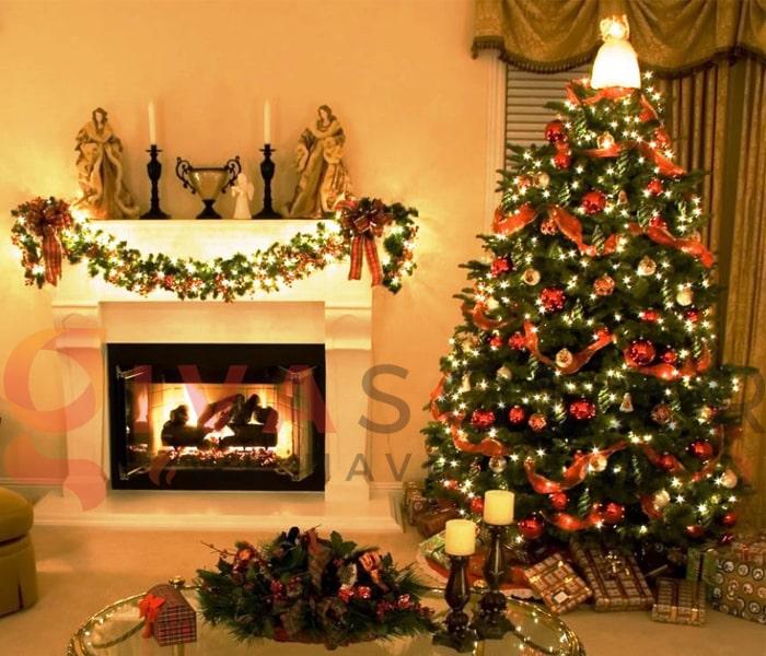 Hướng dẫn trang trí đèn cây thông Giáng Sinh 1