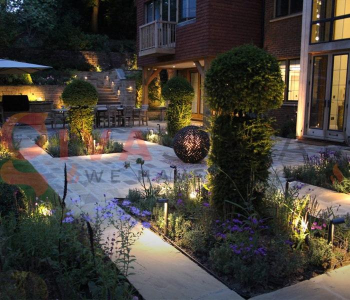 Kinh nghiệm chọn đèn chiếu sáng sân vườn 1