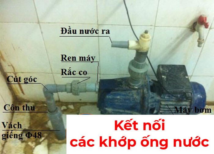 Các lên sơ đồ lắp đặt máy bơm nước gia đình và cách lắp đặt 2