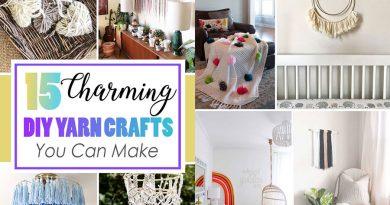 15 ý tưởng trang trí bằng sợi tự chế thú vị và tuyệt vời